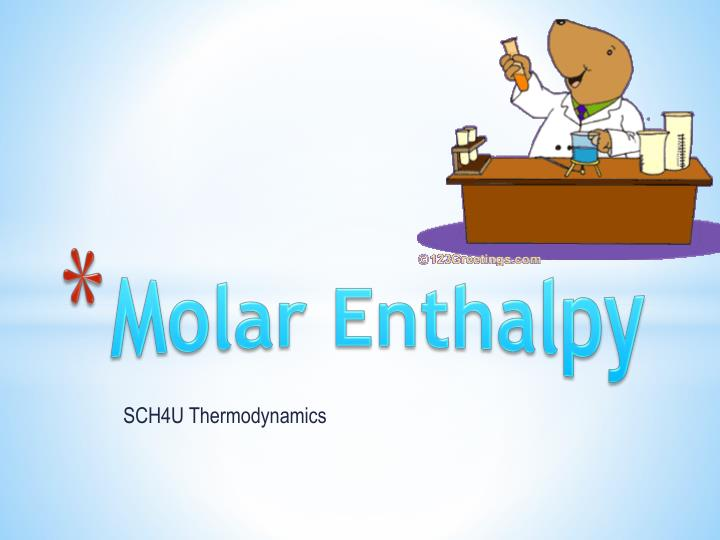 molar enthalpy n.
