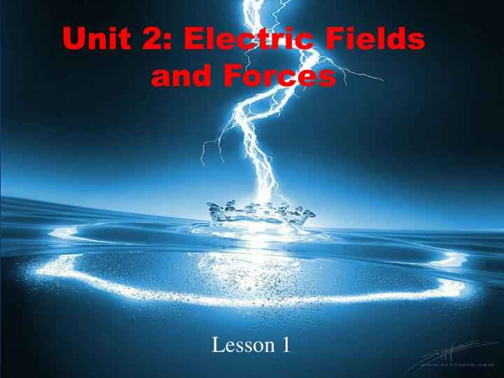 unit 2 electric fields and forces n.