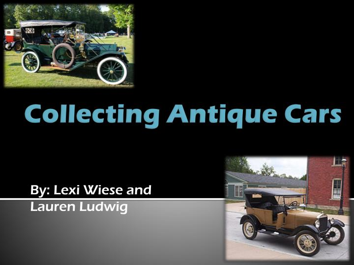 collecting antique cars n.