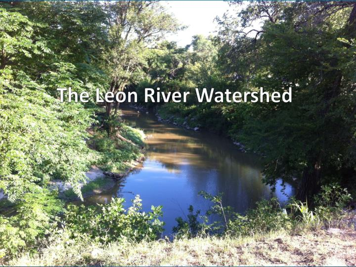 the leon river watershed n.