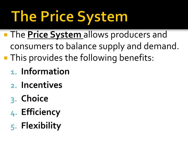 The Price System