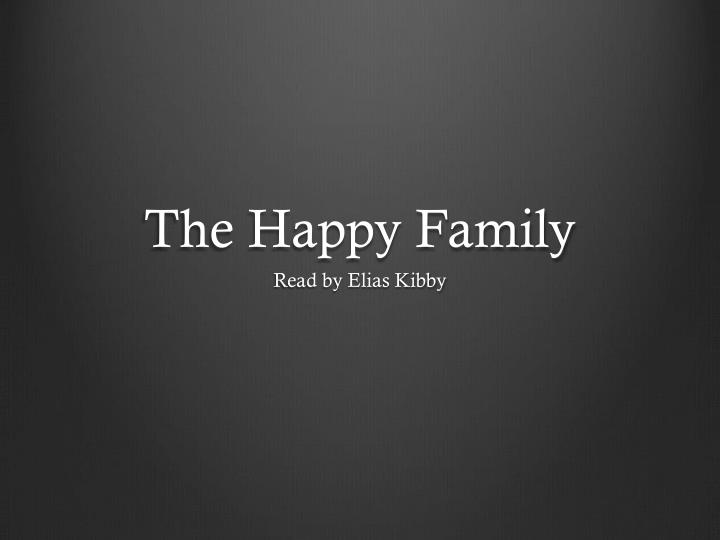 the happy family n.