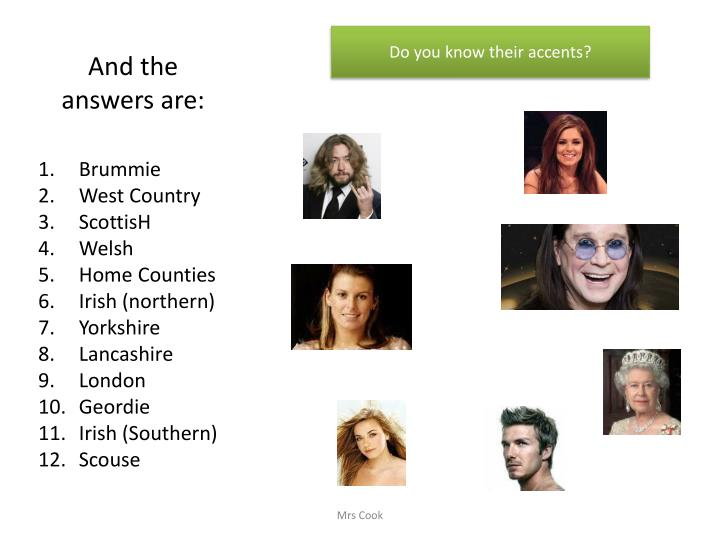 And the answers are: