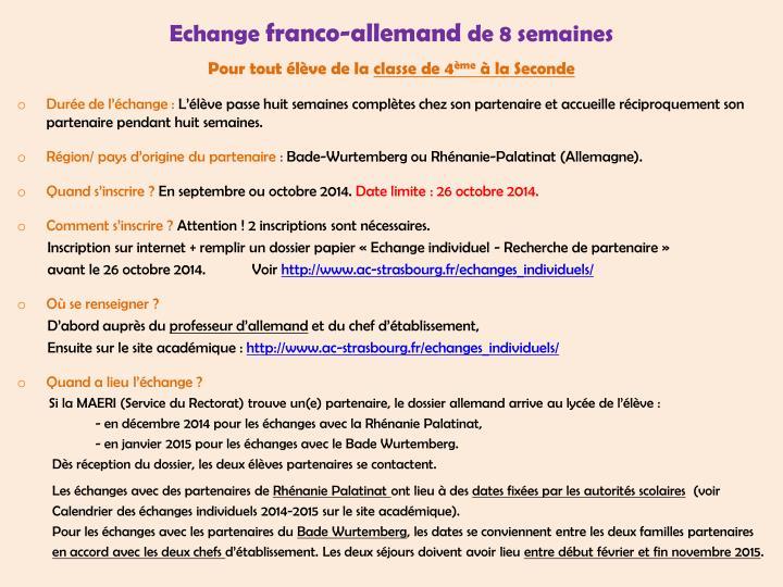Echange