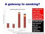 a gateway to smoking