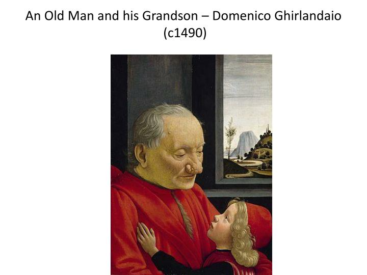 an old man and his grandson domenico ghirlandaio c1490 n.