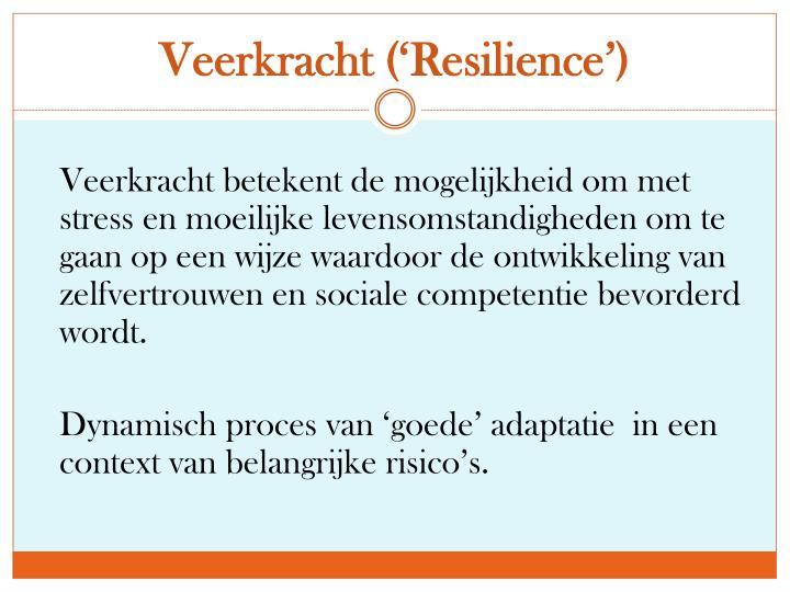 Veerkracht ('
