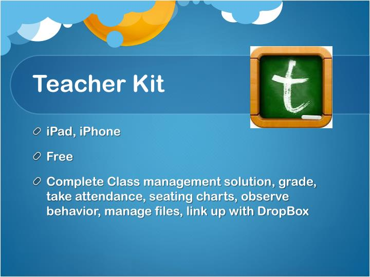 Teacher Kit