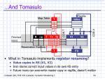 and tomasulo