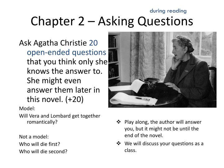 and then there were none essay test High school and advanced 8th grade students love this classic murder mystery  by agatha christie, which is still as thrilling and horrifying today as it was more.