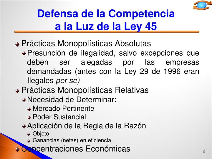Defensa de la Competencia