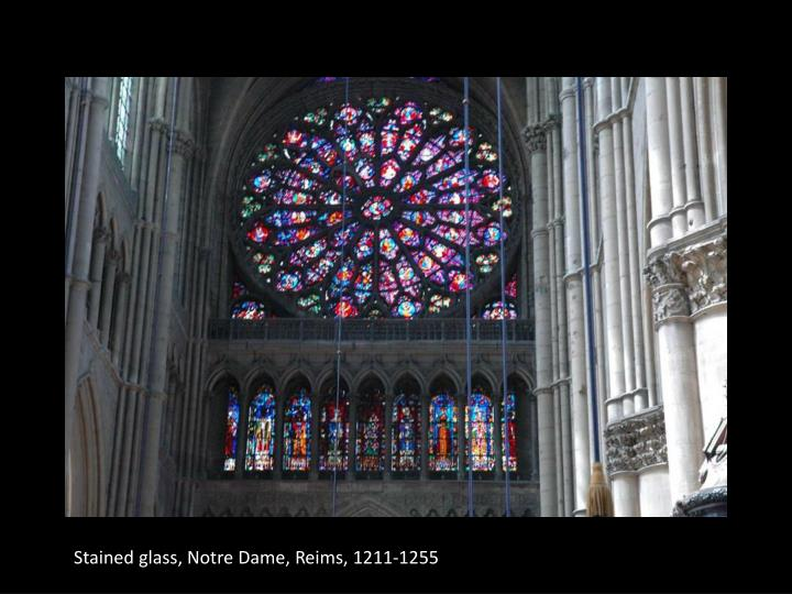 Stained glass, Notre Dame, Reims, 1211-1255
