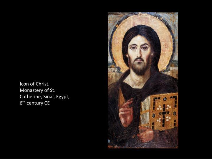 Icon of Christ, Monastery of St. Catherine, Sinai, Egypt, 6