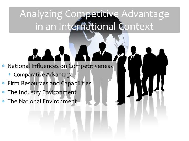 an analysis of competitive environment