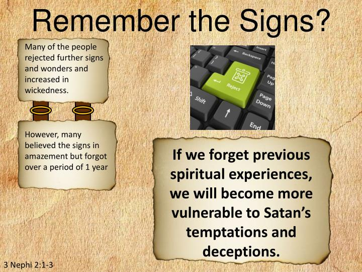 Remember the Signs?