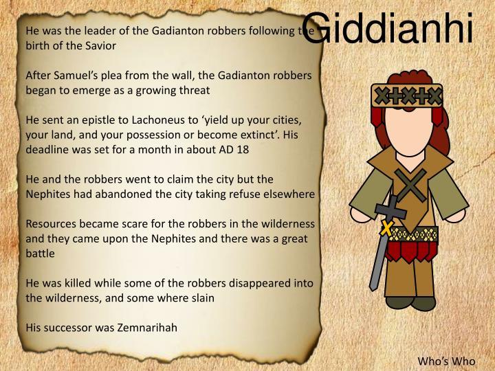 Giddianhi