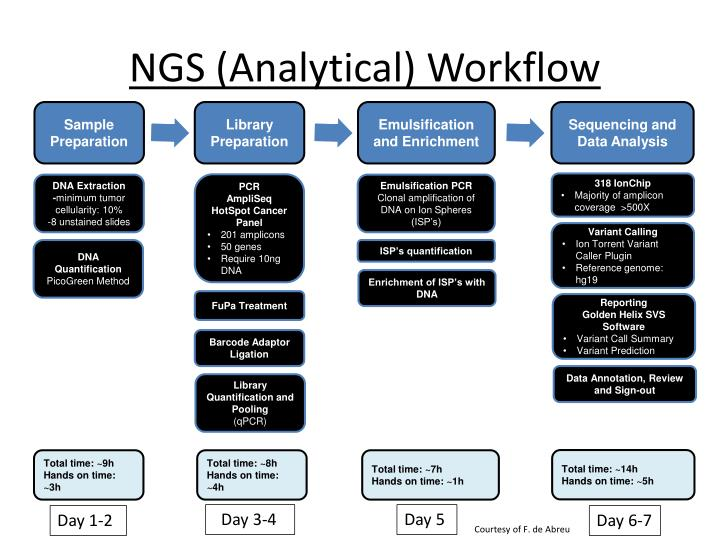 NGS (Analytical) Workflow