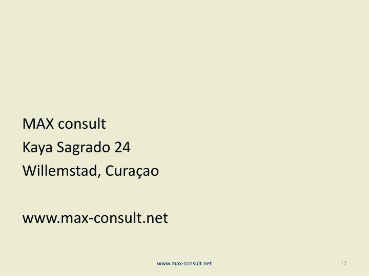 MAX consult