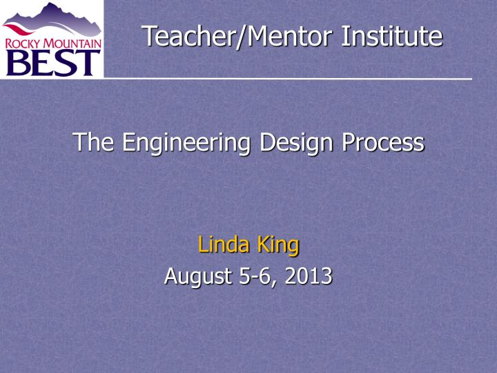 the engineering design process n.