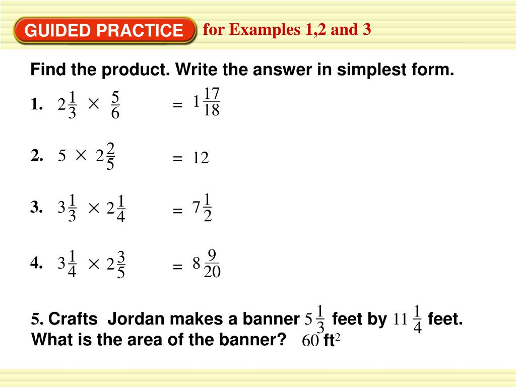 simplest form 2/4  PPT - EXAMPLE 14 PowerPoint Presentation, free download - ID ...