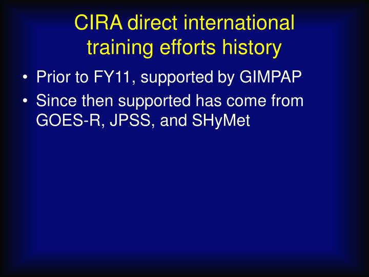 CIRA direct international