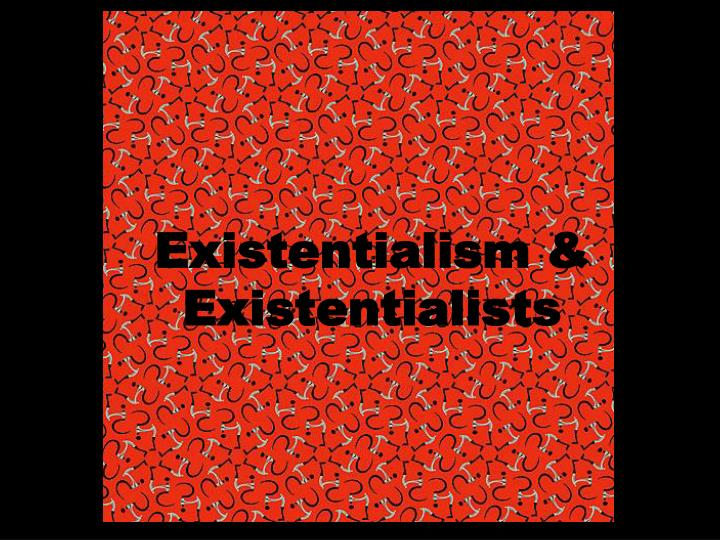 existential nihilism essay Everyone who believes that death may be the end should read the following short essay for an alternative to nihilism, to seek existential meaning and.