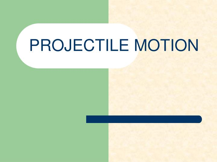 freefall and projectile motion Projectile motion: a cartoon coyote falling off a cliff horizontal and vertical motions q: what determines the time of flight 2 a ball is thrown straight upward with an initial velocity of 25 m/s a what is the velocity at the high point in its motion b how much.