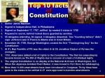 top 10 facts of constitution