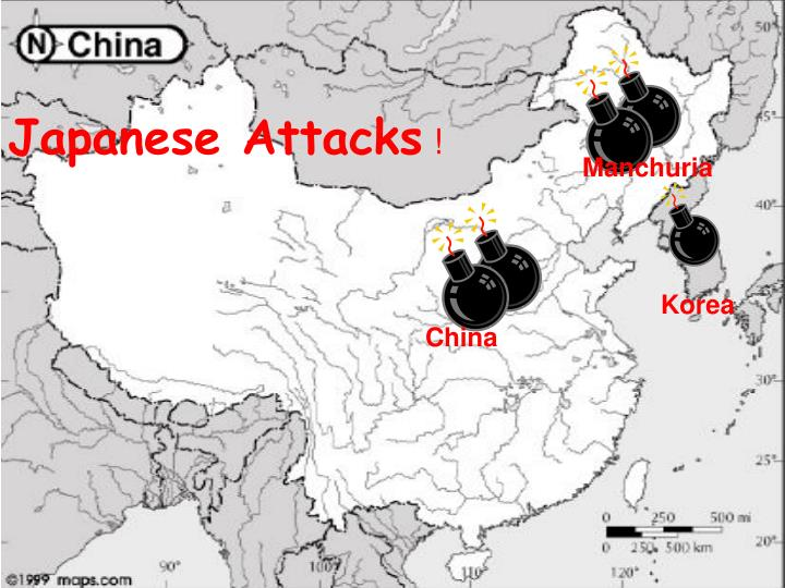 Japanese Attacks