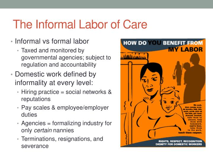 The informal labor of care