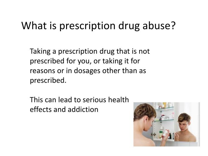 the issue of prescription drug abuse Why do adults misuse prescription drugs policymakers can use this information from the national survey on drug use and health to help inform substance abuse prevention and treatment needs in their communities.