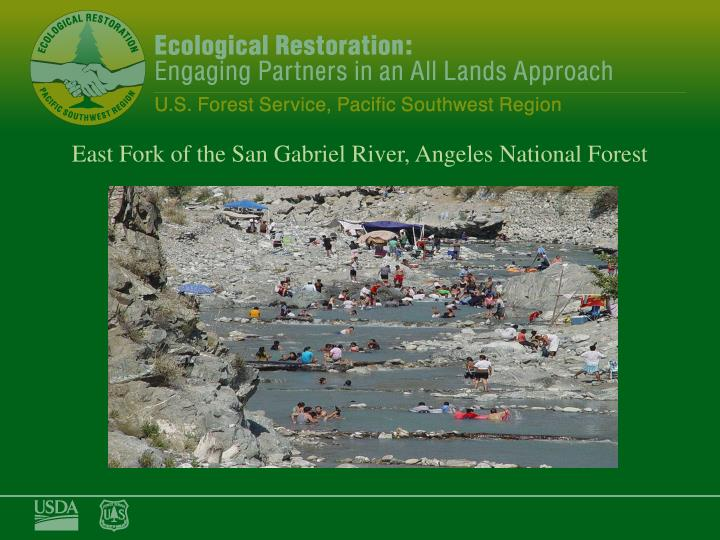 East Fork of the San Gabriel River, Angeles National Forest
