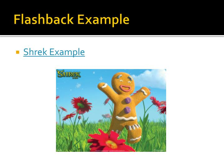Ppt Flashback And Foreshadowing Powerpoint Presentation Id2163385