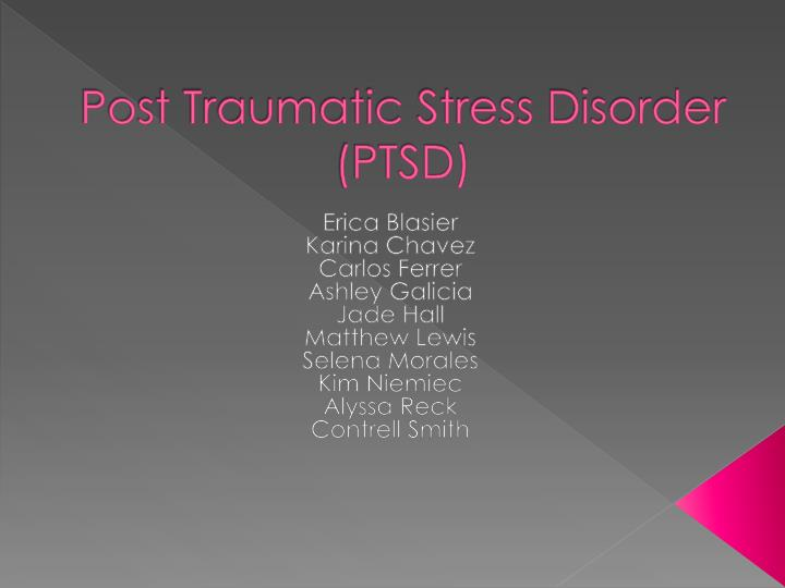 the causes and effects of posttraumatic stress disorder ptsd Causes and risk factors for post-traumatic stress disorder the primary cause for ptsd is experiencing, witnessing, or learning about an event that causes intense fear, helplessness, and dread however, researchers are not sure why some individuals develop this disorder while others do not.
