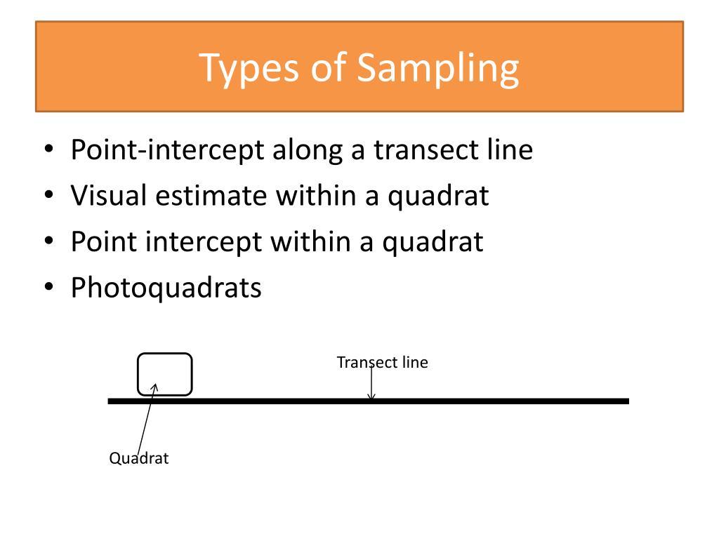 PPT - Ecology Sampling Methods PowerPoint Presentation - ID