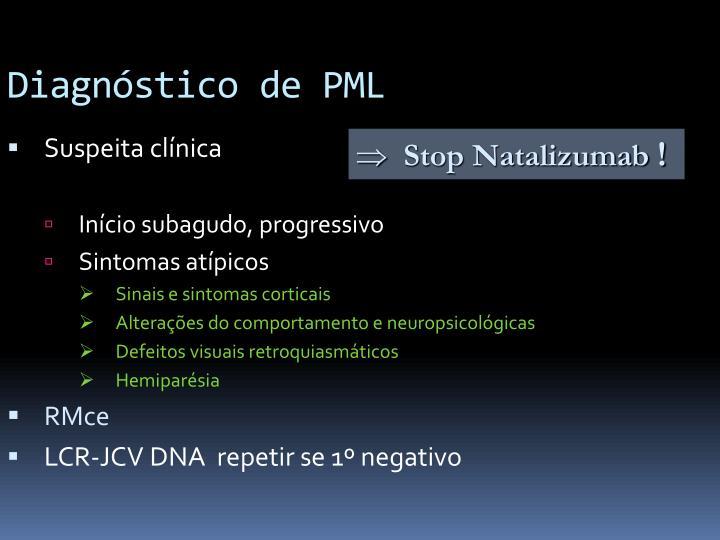 Diagnóstico de PML