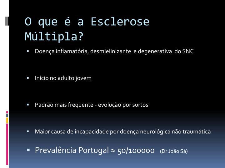 O que a esclerose m ltipla