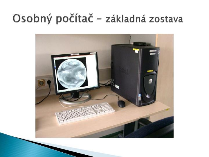 Osobný počítač –