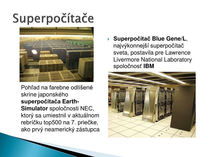 Superpočítače