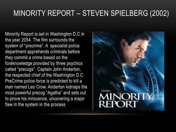 Minority Report – Steven Spielberg (2002)