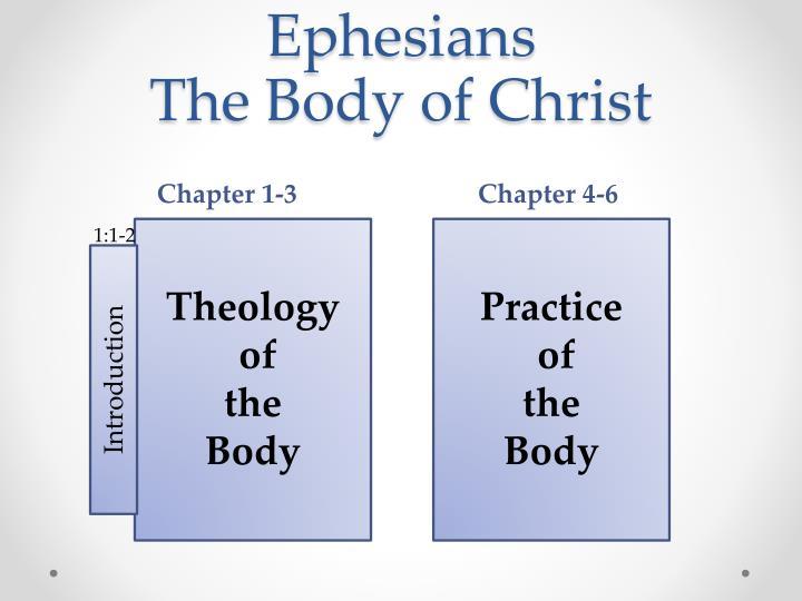 Ephesians the body of christ