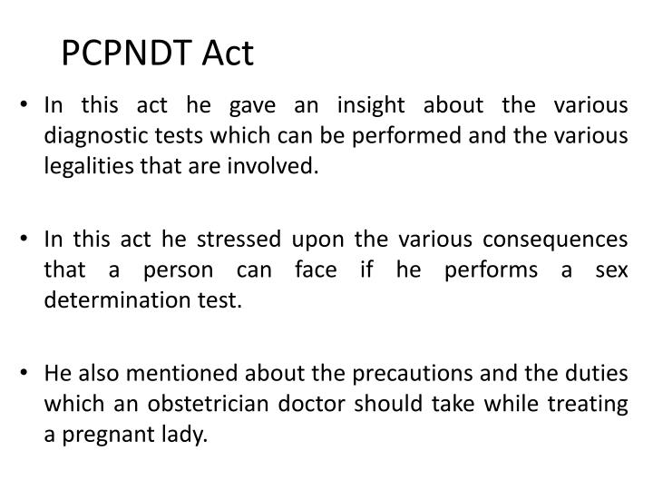 PCPNDT Act