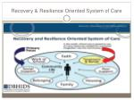 recovery resilience oriented system of care