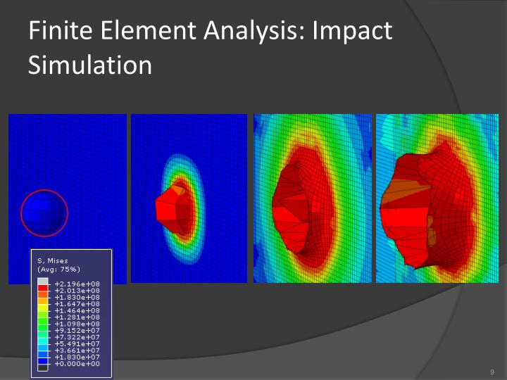 Finite Element Analysis: Impact Simulation