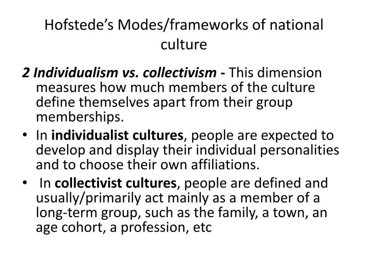 Hofstede's