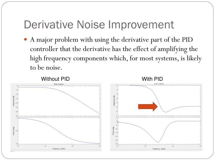 Derivative Noise Improvement