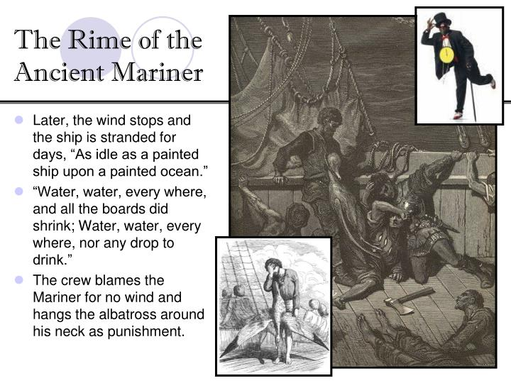 a comparison of ode to a nightingale and the rime of the ancient mariner A 5 page research paper on the poems: 'ode to a nightingale,' 'to a skylark,' and 'the rime of the ancient mariner' the writer describes the symbolism of the birds in each poem and the reasons for their use.