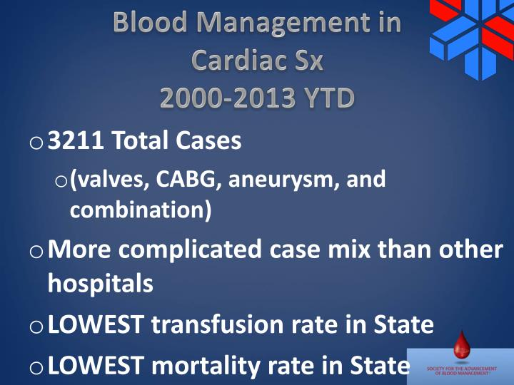 Blood Management in