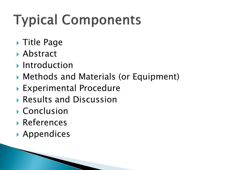 Typical Components