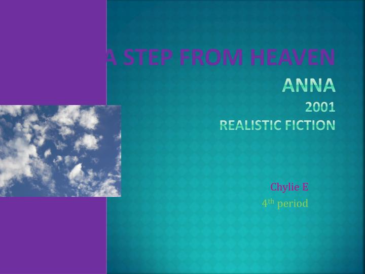 a step from heaven anna 2001 realistic fiction n.